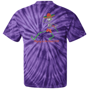"Playing in the Sand ""Day of the Grateful Dead"" Tie Dye T-Shirt"