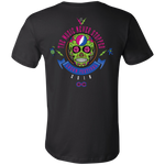 "2018 Lockn' Festival ""The Music Never Stopped"" Bella+Canvas Men's / Unisex Short Sleeve T-Shirt - 14 Color Options"