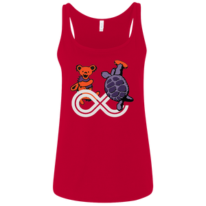 "2017 Lockn' Festival ""Déjà Vu"" Bella+Canvas Ladies' Relaxed Jersey Tank - 6 Color Options"