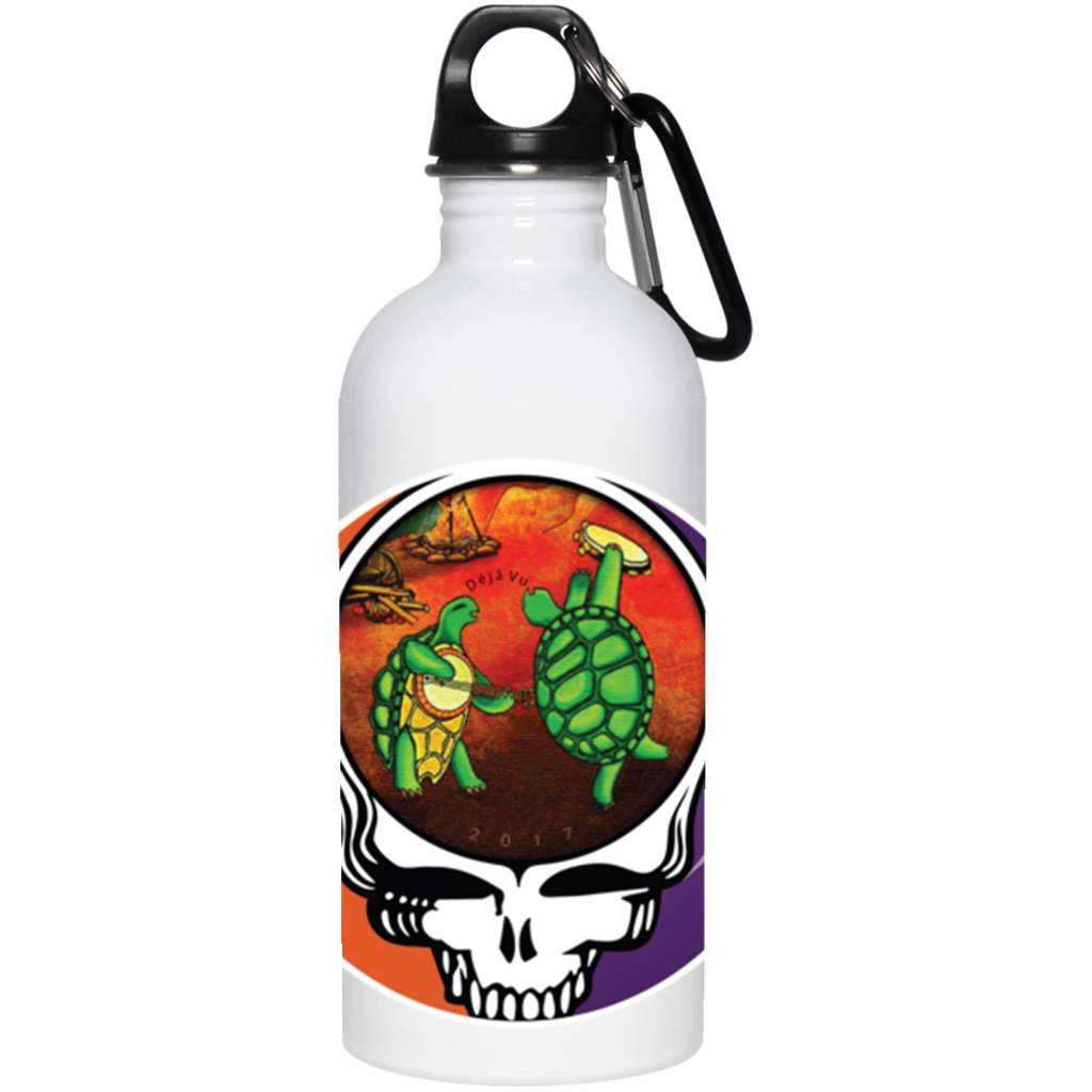 """Déjà Vu"" Bob & Phil 20 oz. Stainless Steel Water Bottle"