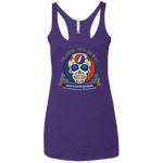 "2018 Playing in the Sand ""Day of the Grateful Dead"" Ladies' Next Level Triblend Racerback Tank - 13 Color Options"