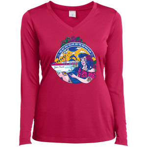 Jam Cruise Grateful Dead Ladies' Long Sleeve Performance V-Neck