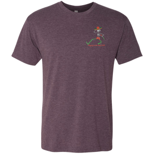 "2018 Playing in the Sand ""Day of the Grateful Dead"" Next Level Triblend Men's Short Sleeve T-Shirt - 10 Color Options"