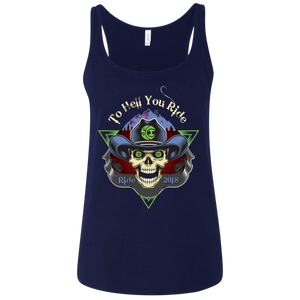 "2018 Ride Festival ""To Hell U Ride"" Bella+Canvas Ladies' Relaxed Jersey Tank - 6 Color Options"