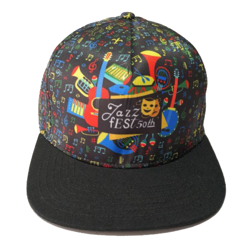 Jazz Fest 50th Anniversary Trucker Hat