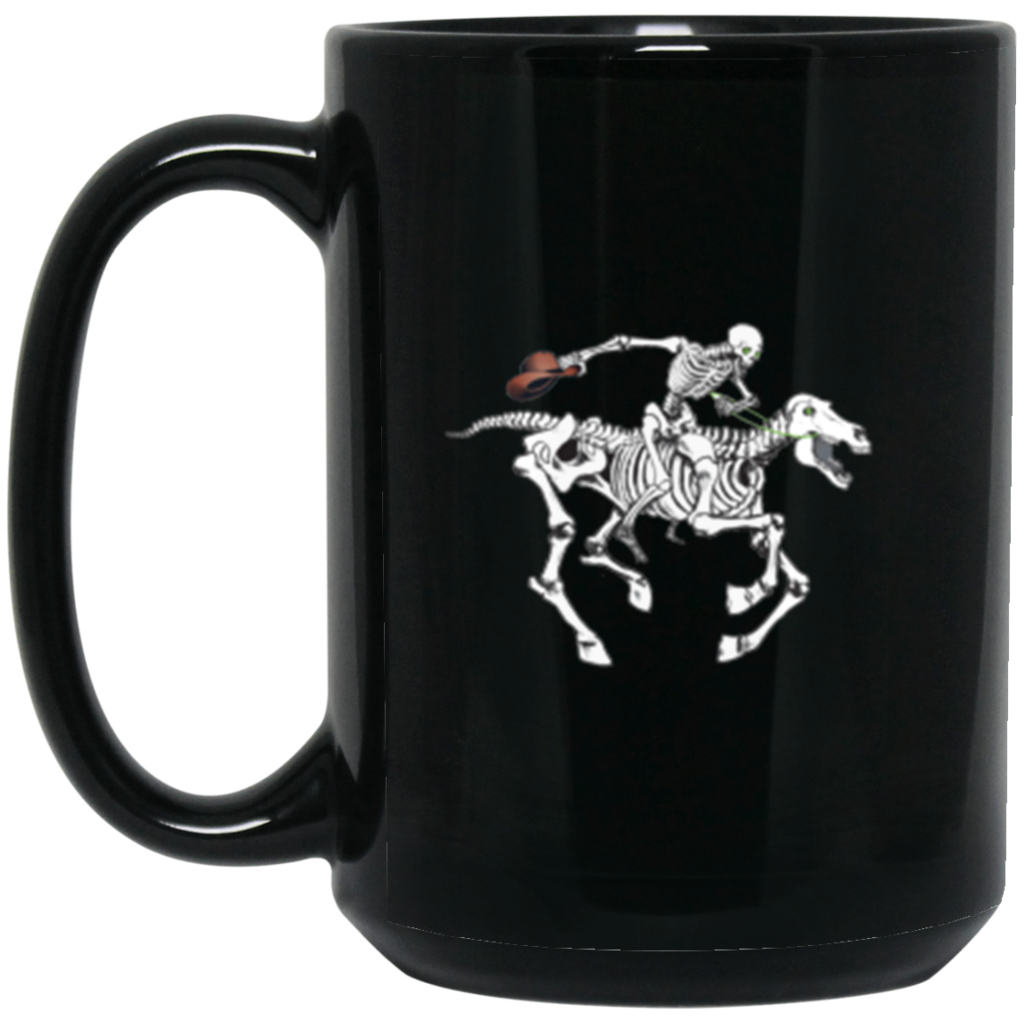 "2018 Ride Festival ""To Hell U Ride"" 15 oz. Black Mug"