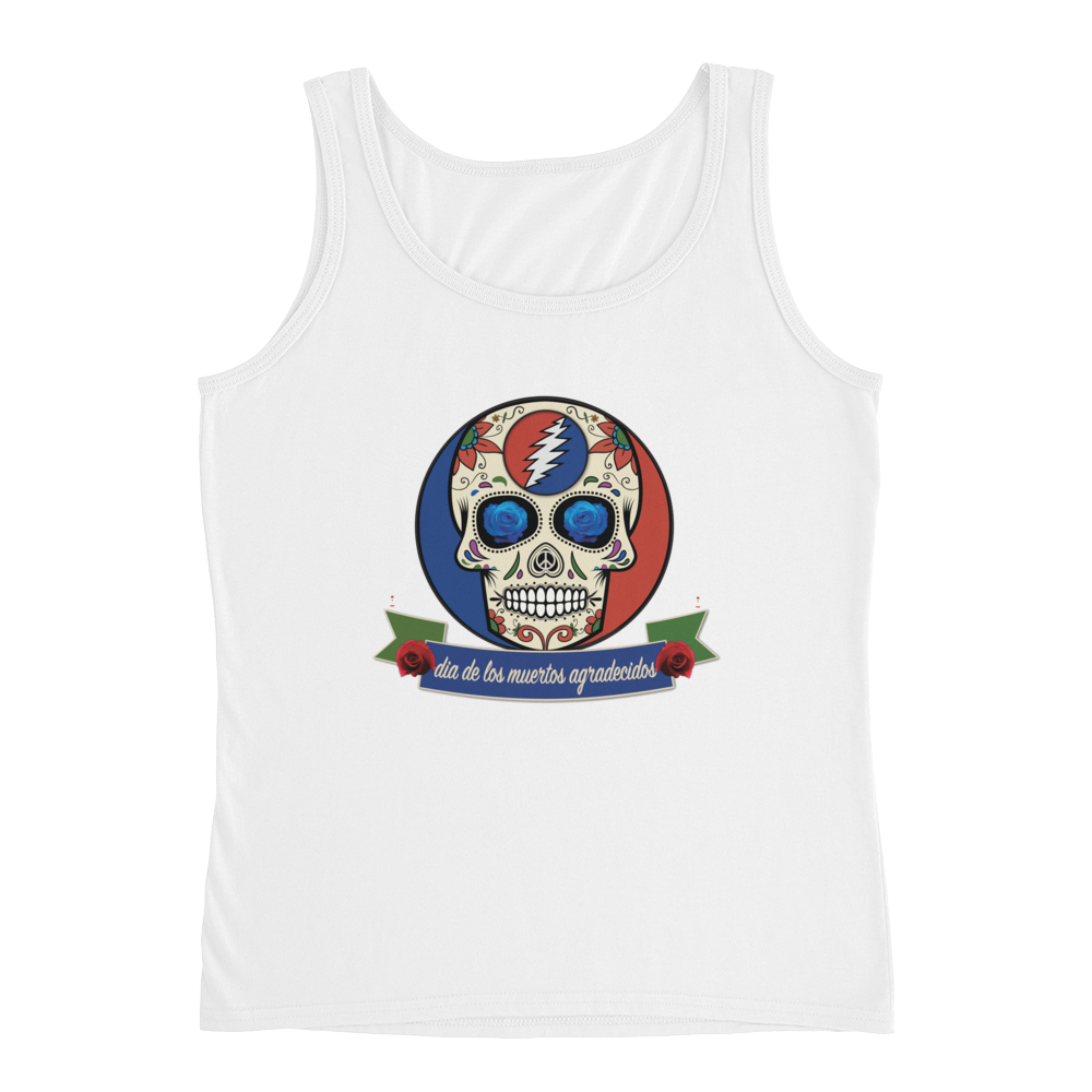 """Day of the Grateful Dead"" Ladies' Relaxed Jersey Tank Top"