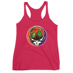 """Déjà Vu"" Bob & Phil Ladies' Next Level Triblend Racerback Tank"