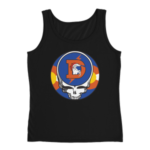 Broncos Steal Your Face Ladies' Relaxed Jersey Tank Top