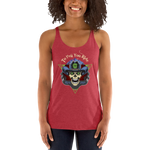 "2018 Ride Festival ""To Hell U Ride"" Ladies' Racerback Tank Top"