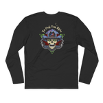 """To Hell You Ride"" USA Biker Men's Long Sleeve T-Shirt"