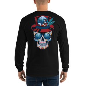 Jam Cruisin' 2020 Design Front & Back Men's Gildan Long Slv. Tee
