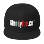 BloodyToe.co Dancing Boy Otto Cap Structured Wool Blend Snapback
