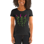 """Skully Jammers"" Ladies' Triblend T-Shirt"