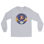 Broncos Steal Your Face One of a Kind Design Men's Lg. Sleeve Tee