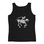 """Skully Rider"" Ladies' Relaxed Jersey Tank Top"