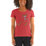 "2018 Playing in the Sand ""Skully Dancer"" Ladies' Triblend T-Shirt"