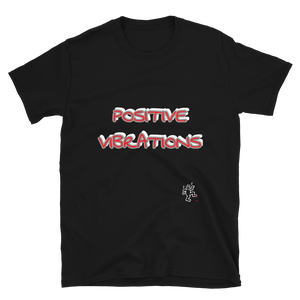 POSITIVE VIBRATIONS T-SHIRT UNISEX INSPIRE COLLECTION GILDAN