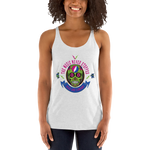 """The Music Never Stopped"" Ladies' Triblend Racerback Tank"