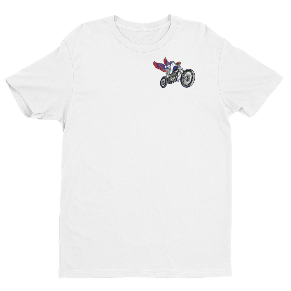 """To Hell You Ride"" USA Biker Men's Short Sleeve T-Shirt"