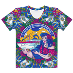 Jam Cruise Ladies' All-Over Print Hand Cut & Sewn Premium Tee