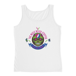 """The Music Never Stopped"" Ladies' Relaxed Jersey Tank Top"