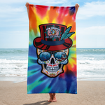 Jam Cruisin' 2020 Captain Looney Beach Towel