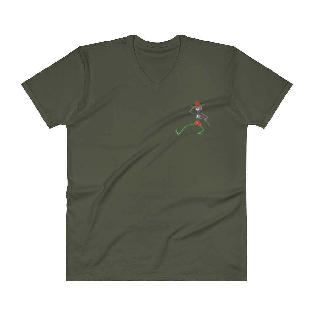 """Day of the Grateful Dead"" Men's Short Sleeve Design Front & Back"