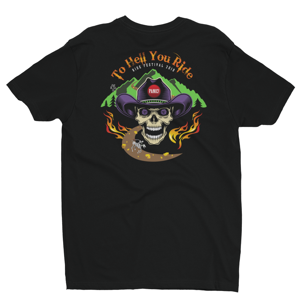 2019 Ride Festival To Hell You Ride Men's Next Level Premium Tee