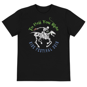 "2018 Ride Festival ""Skully Rider"" Unisex Eco-friendly T-Shirt"