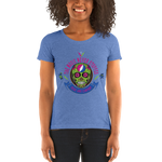 """The Music Never Stopped"" Ladies' Triblend T-Shirt"