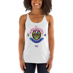 "2018 Lockn' Festival ""The Music Never Stopped"" Ladies' Racerback"