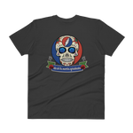 """Day of the Grateful Dead"" Men's V-Neck Design Front & Back"