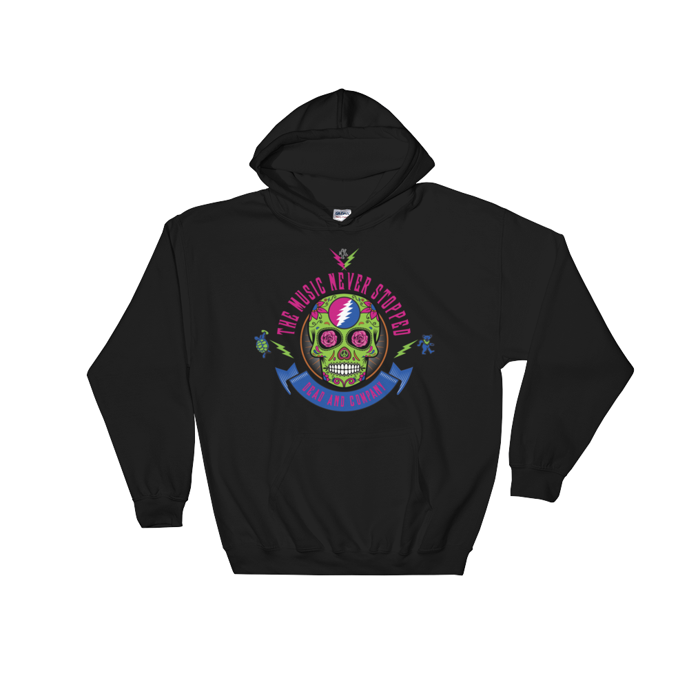 """The Music Never Stopped"" Men's / Unisex Premium Blend Hoodie"