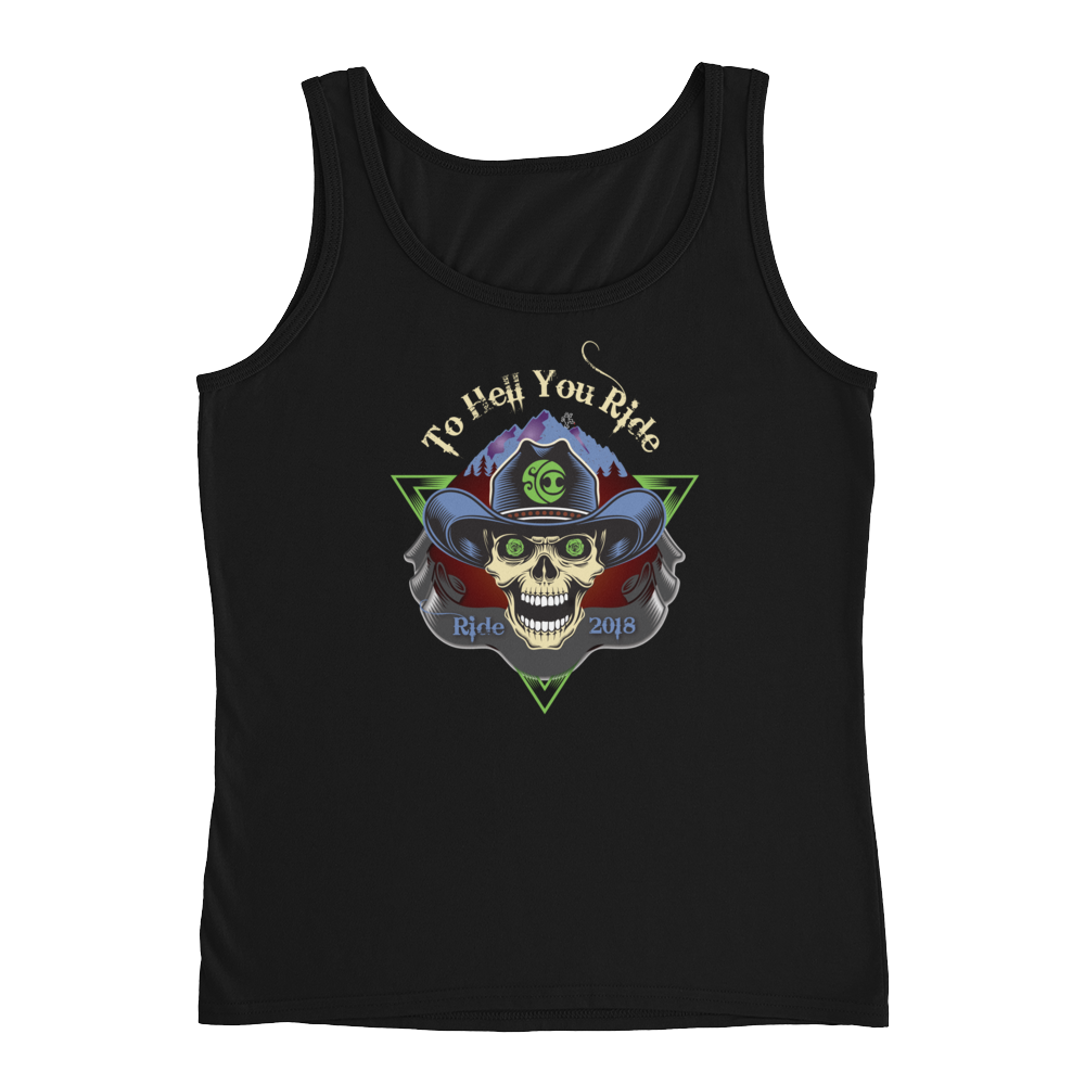 "2018 Ride Festival ""To Hell U Ride"" Ladies' Relaxed Jersey Tank"