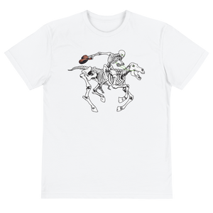 """Skully Rider"" Unisex Eco-friendly Sustainable Short Sleeve Tee"