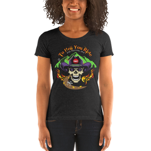 2019 Ride Festival To Hell You Ride Ladies' Triblend T-Shirt