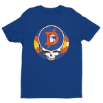 Broncos One of a Kind Steal Your Face Design Men's T-Shirt