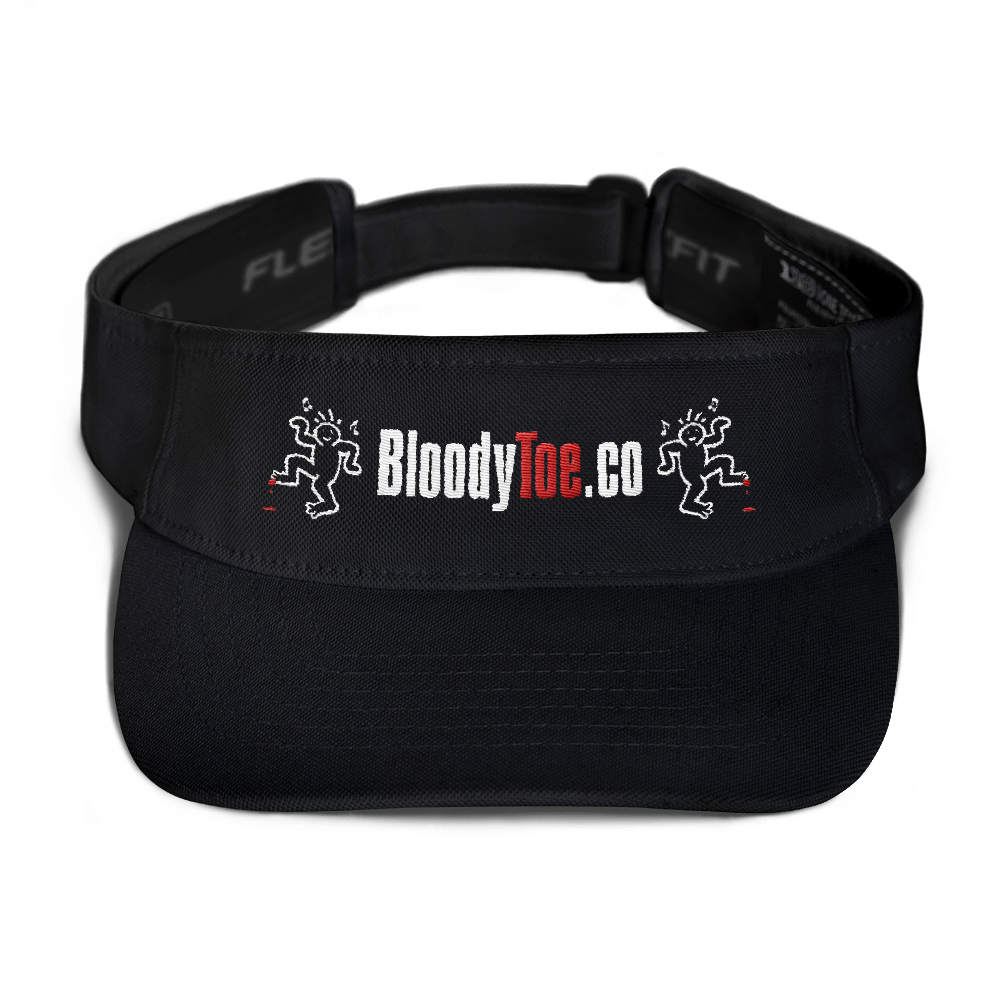 BloodyToe.co Dancing Boy Visor