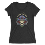 """To Hell You Ride"" USA Biker Ladies' Triblend T-Shirt"