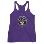 """To Hell You Ride"" USA Biker Ladies' Racerback Tank 13 Colors"