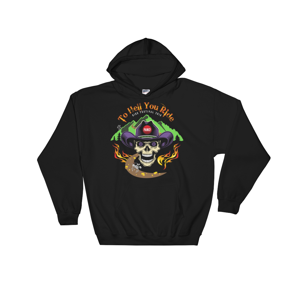 2019 Ride Festival To Hell You Ride Men's / Unisex Premium Hoodie