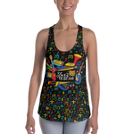 Jazz Fest 50th Anniversary Ladies' Hand Cut & Sewn Racerback Tank
