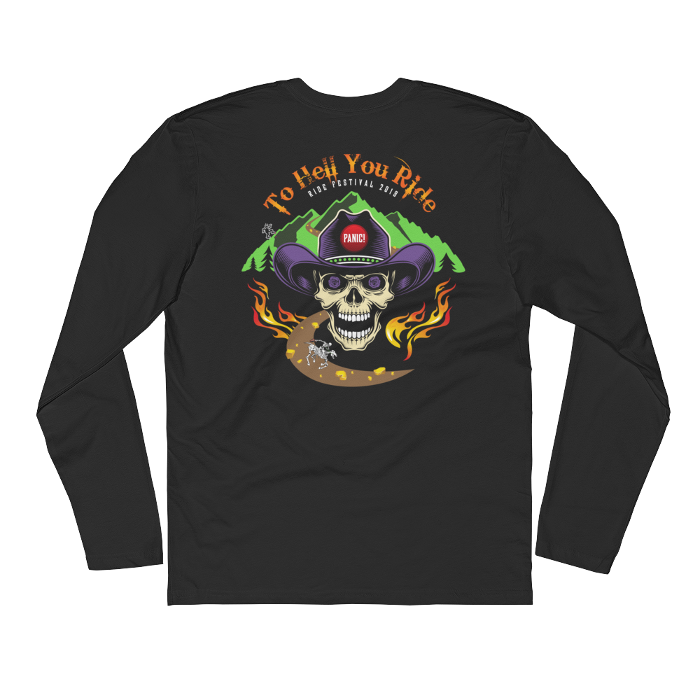 2019 Ride Festival To Hell You Ride Men's Premium Lg. Sleeve Crew