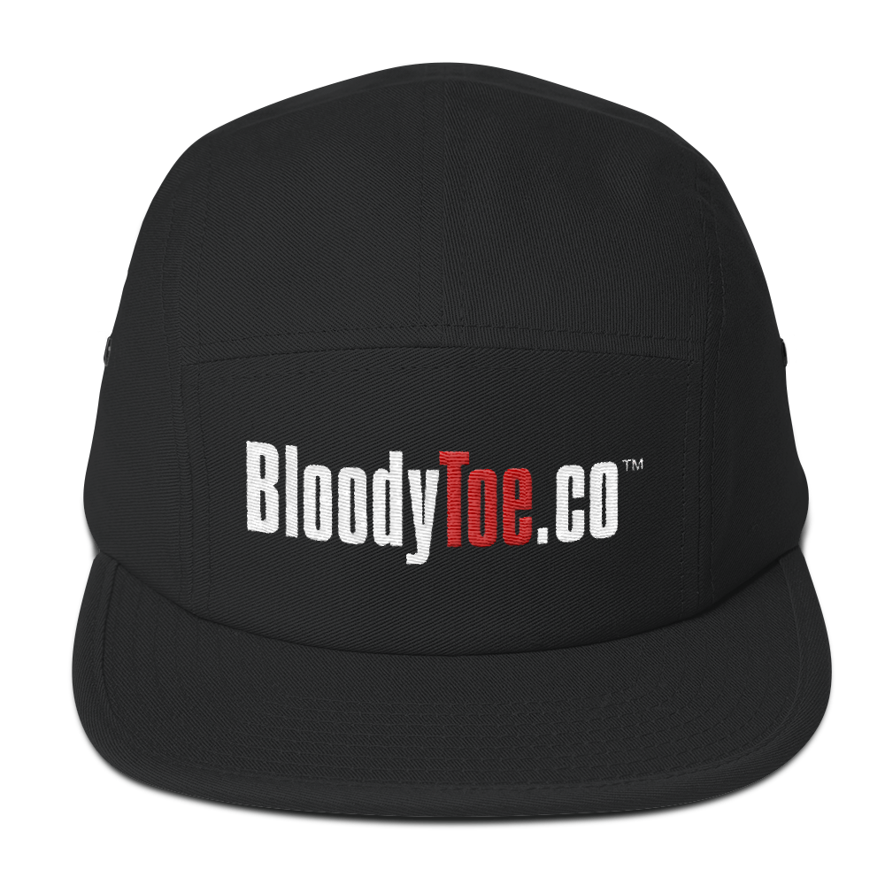 BloodyToe.co Dancing Boy Otto Cap Structured 5 Panel Camper