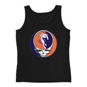 Broncos Horse Grateful Dead Design Ladies' Relaxed Jersey Tank
