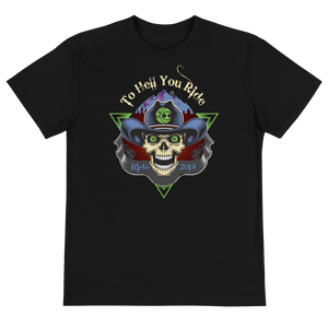 "2018 Ride Festival ""To Hell U Ride"" Unisex Eco-friendly T-Shirt"