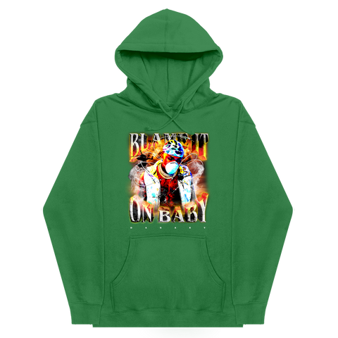 Blame It On Baby Green Album Cover Hoodie