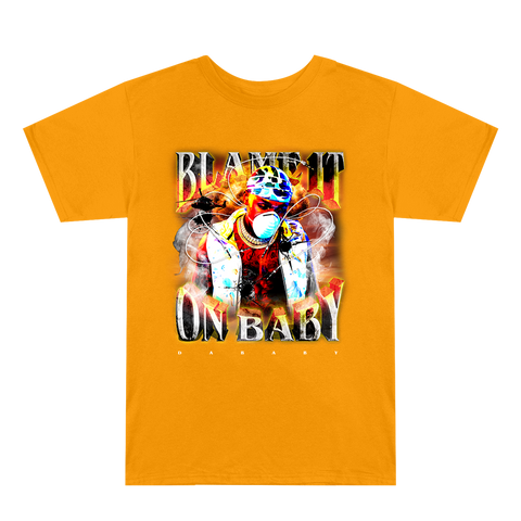 Blame It On Baby Light Orange Album Cover T-Shirt