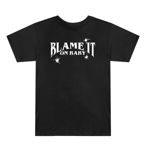 Blame It On Baby Black Logo T-Shirt